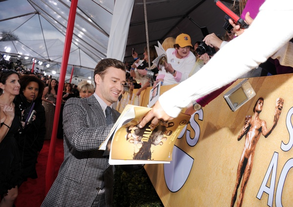 Justin Timberlake, Screen Actors Guild Awards, SAG Awards