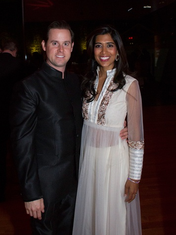 11 0276 Chris and Divya Brown at the Asia Society Spotlight Asia party April 2014