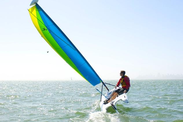 sailboat hobie boat