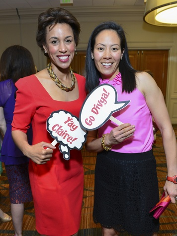 5 at the Best Dressed luncheon March 2014