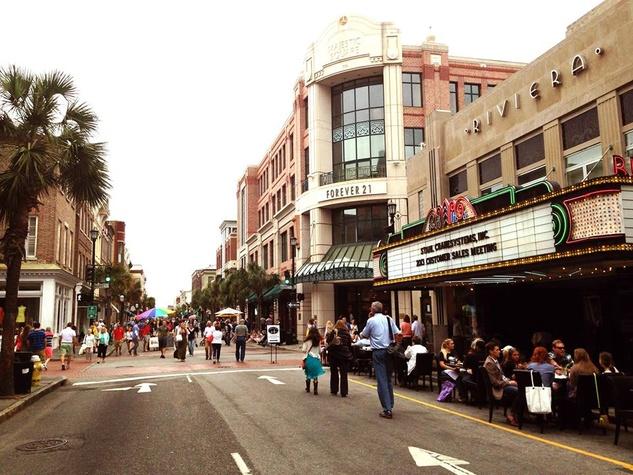 King Street in Charleston, South Carolina