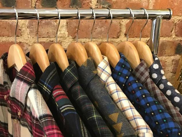 Portuguese Flannel button down shirts, DLM Supply