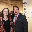 13 Mary Lawler and Mark Montgomery at the Art on the Avenue benefit November 2014.