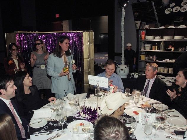 95 Max's Wine Dive table at the Bon Vivant Dinner January 2014