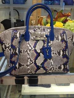 VBH snakeskin handbag