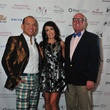 Alex Martinez, from left, Diane Caplan and David Arpin at the Holly Rose Ribbon Foundation Day dinner September 2014
