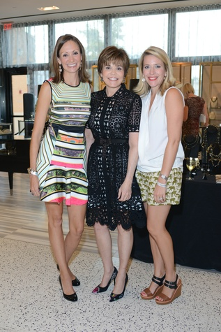 50 Julianna Moorad, from left, Hallie Vanderhider and Elin Jackson at the WOW Summer Soiree August 2014