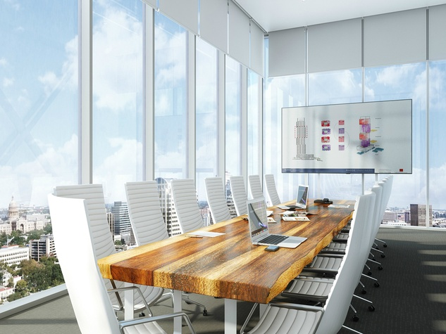 The Independent_downtown Austin condo_interior rendering_boardroom_2015