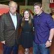 2 Charles Hartland, from left, with Amanda and Jon Weeks at the DePelchin Friday Night Lights Gala November 2013