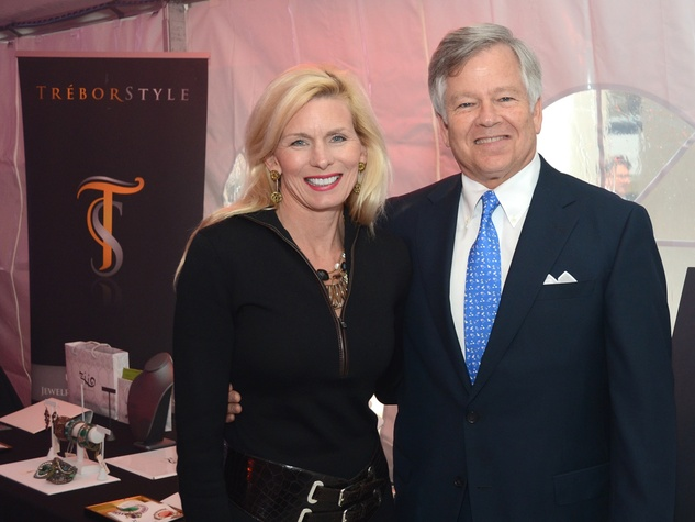 Terrie and Mike Turner at West Ave Fashion on the Avenue March 2014