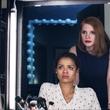 Gugu Mbatha-Raw and Jessica Chastain in Miss Sloane