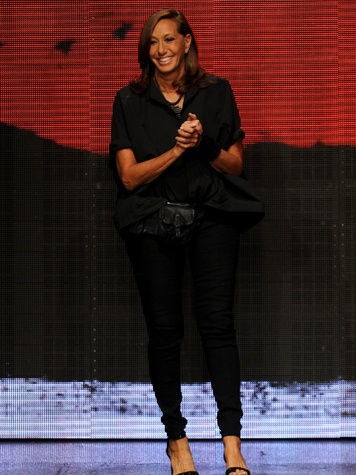 Fashion Week spring 2015 designer Donna Karan for Donna Karan