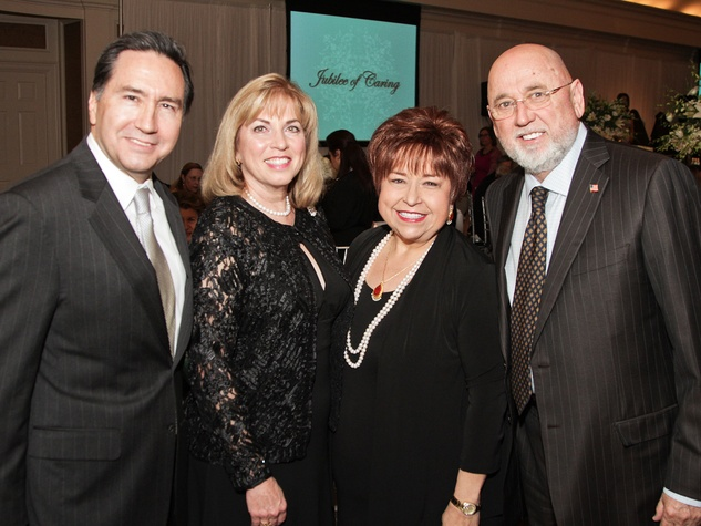 5690 at the Harris County Hospital District Gala October 2013 Denis DeBakey, from left, Lavonne Cox and Trini Mendenhall Sosa and Frank Sosa