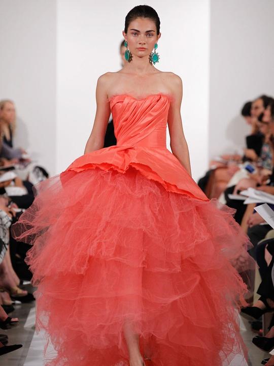 Fashion Week spring summer 2014 Oscar de la Renta Look 48