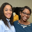 Helen Yancy, left, and Ashley Authorlee at WOW's Membership Drive June 2014