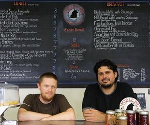 Austin Photo Set: News_Veronica Mewes_noble pig_July 2012_chefs