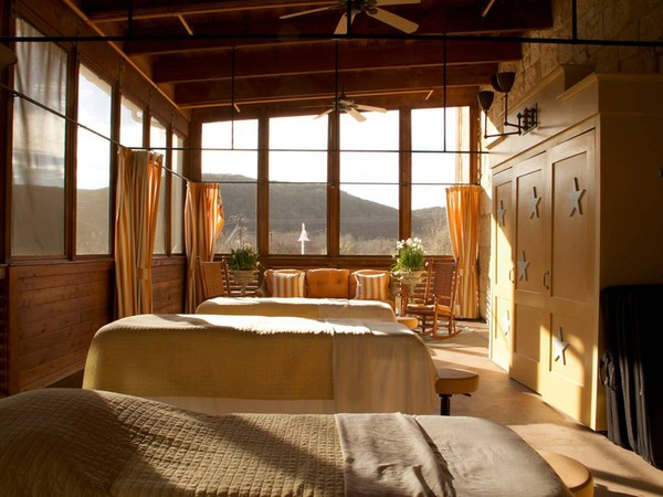 West austin spa named no 21 best resort in the world for Best austin spa resorts