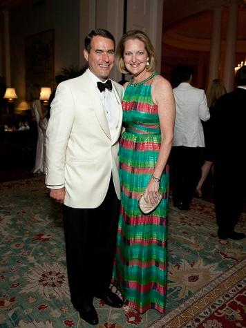 19 CancerForward Houston Gala May 2013 Steve Mach and Joella Mach
