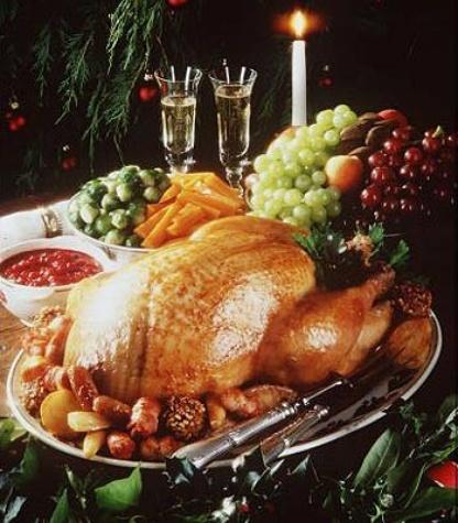 News_Christmas dinner_turkey_Dec 2010
