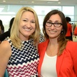 Millie Fitzpatrick, left, and Brooke Behrens at WOW's Membership Drive June 2014