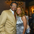 9 Rufus and Yvonne Cormier at Vallone's opening party November 2013