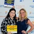 Shenila Humayun-Naseem, left, and Tabitha Smith at the Aga Khan Foundation Emmisary awards reception September 2014