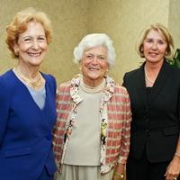 News_Hospice luncheon_April 2012_Susan Baker_Barbara Bush_Ann James