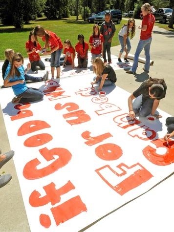 Kountze High School banner
