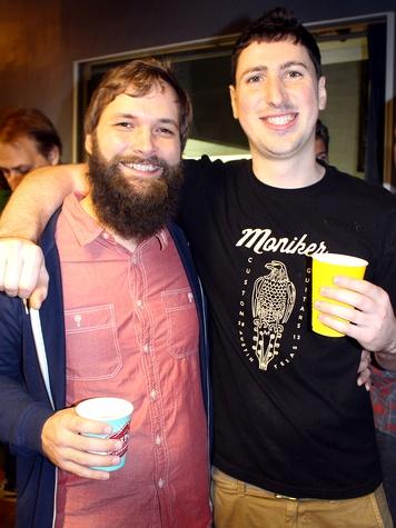 Moniker Guitars Texas BBQ Party December 2014 - Micah Bruce - Matt Keiser