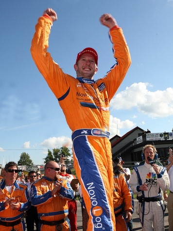 Charlie Kimball race car driver September 2013