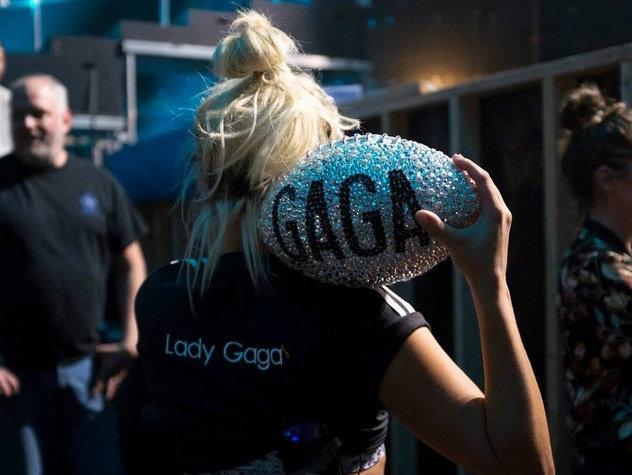 Houston, Lady Gaga's Super Sunday, Super Bowl LI, Feb 2017, Lady Gaga at Super Bowl LI