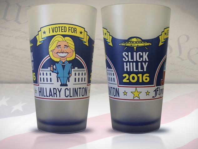 Hillary beer glass