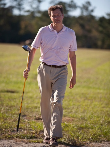 Arthur Newman Colin Firth as golfer