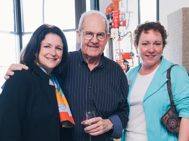 10 Texas Contemporary Art Fair kick-off April 2013 Lea Weingarten, Clint Willour, Julie Farr