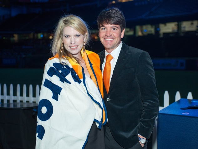 Astros Diamond Gala, Jan. 2016, Courtney Toomey, Bill Toomey