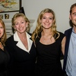 Debbie Tate, Vicki Howard, Abbi Argo and Curtis Howard at Dancing With the Stars preview in Austin