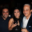 25 Steve Rophail, from left, Kathleen Paz and Saner Nassar at the Eleven XI party November 2013