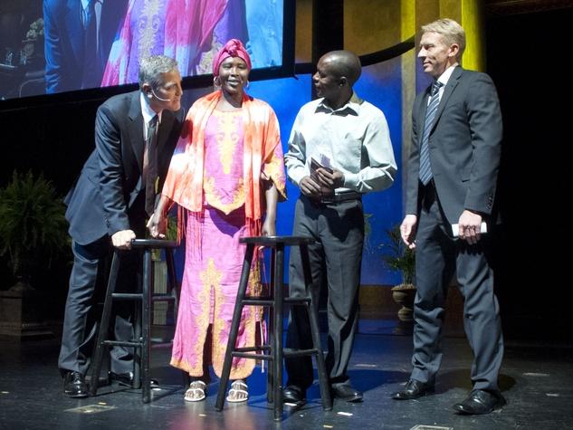 News_George Clooney_Scott Brogan_Brilliant Lecture_May 2012
