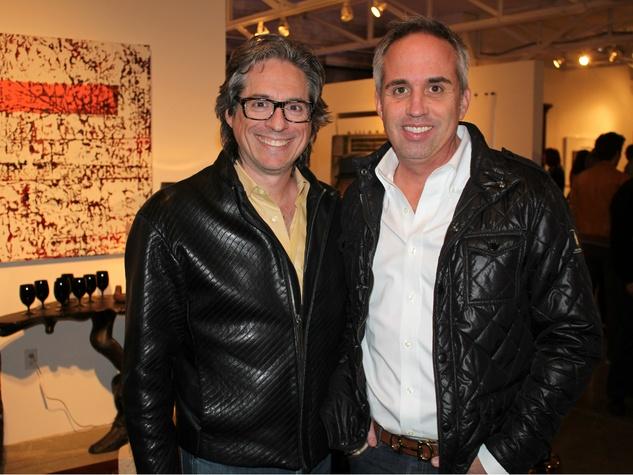 Clint Bradley, Darin Kunz, Gallerie Noir one year anniversary party