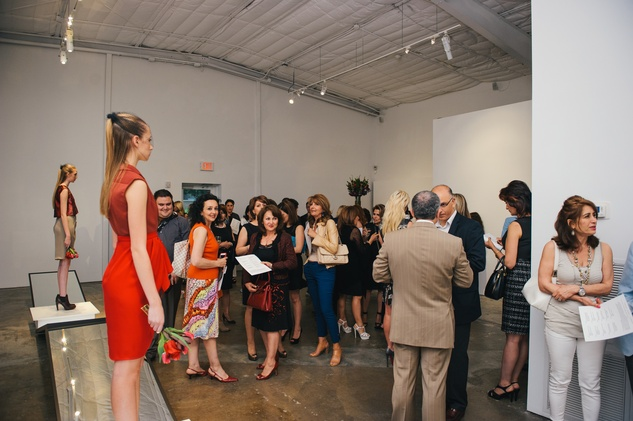 28 The scene at the Amir Taghi launch May 2014