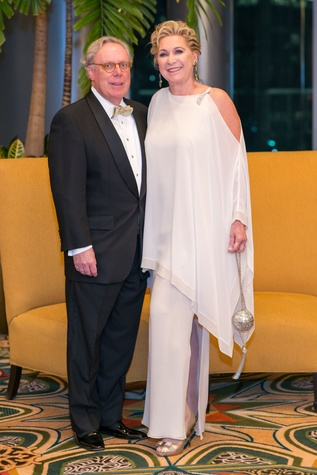 Mike and Carol Linn at the Winter Ball January 2015