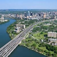 Austin Photo Set: News_rickie windle_austin water_jan 2012_birds eye view
