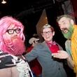 Catastrophic Theatre Drag Ball 2015 Mark McCray, Daryn Bauer, Bill Arning
