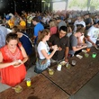 24th annual 2014 Austin Chronicle Hot Sauce Festival crowd tasting