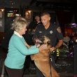 12 Mayor Annise Parker and dog Bret with Shawn Brown at K9s4COPS Unleased 2013