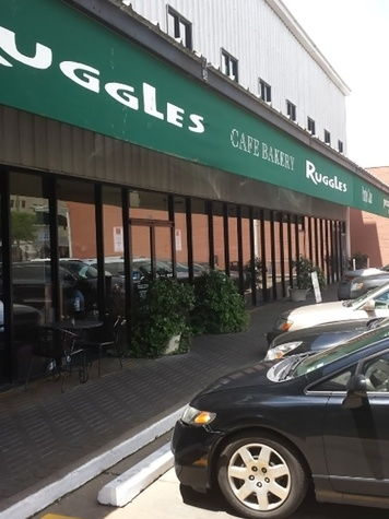 Ruggles Cafe Bakery Rice Village closed exterior day