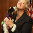Mayor Annise Parker, Jax, adopted dog, BARC