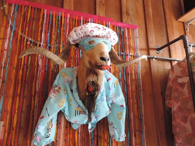 Tarra Gaines Antique Week beginner's guide March 2015 showercap hanger