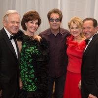 Symphony Ball, May 2015, Jim and Sherry Smith; Huey Lewis; Lisa and Jerry Simon