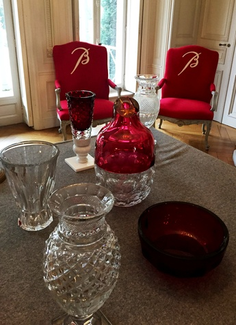 Cherri Carbonara Baccarat factory tour April 2015 Guest house where visitors are welcomed to the Baccarat factory